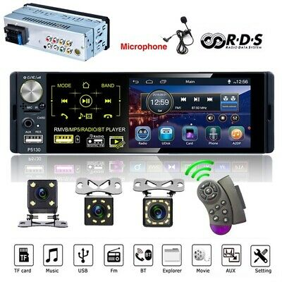 4.1inch 1 Din Car Mp5 Player HD Capacitive Touch Screen Car Radio Stereo