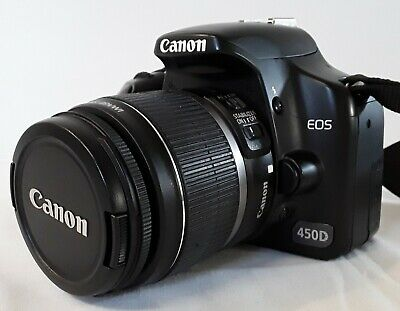 Canon EOS 450D Digital Camera With EFS 18-55mm Lens