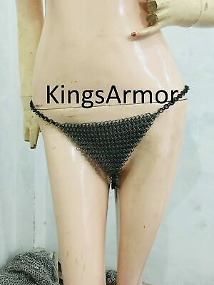sexy Body chainmail swim wear beach Top Pantie Harness Lingerie