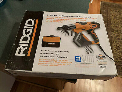 "Ridgid 3"" Drywall & Deck Collated Screwdriver R6791"