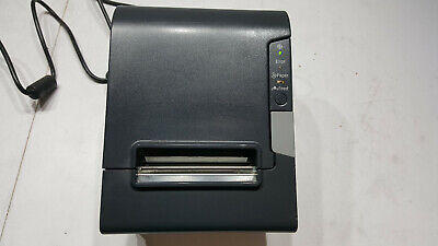 EPSON TM-T88V M244A POS Thermal Receipt Till Printer with Power Supply
