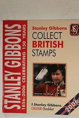 Stamp Catalogue   Stanley Gibbons  Collect British Stamp 2006 edition