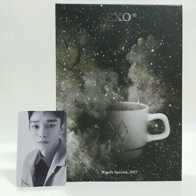 CD EXO Universe Winter Special Album Korea Press 2017 Chinese with Photocard