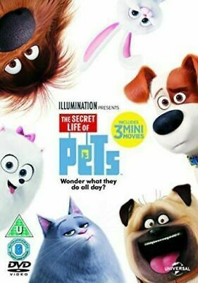 The Secret Life of Pets 1 - New and Sealed UK DVD