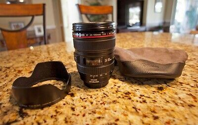 CANON EF 24-105 mm IS L USM Zoom Lens Pristine Condition with IMAGE STABILIZER