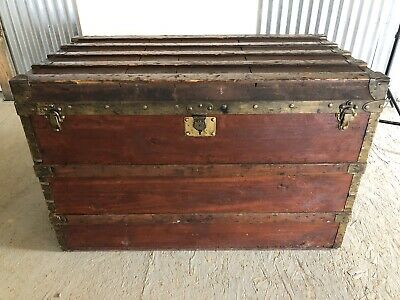 Louis Vuitton Early Large Trunk 1880's