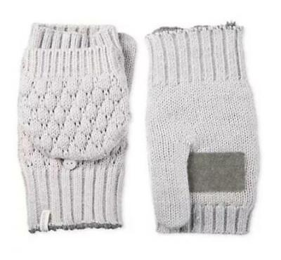 Isotoner Signature Isotoner Womens Flip Top Mittens with Palm Patch.