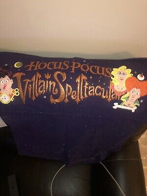 Disney Parks Mickey's Not So Scary Hocus Pocus Spirit Jersey 2019 NWT XS X Small
