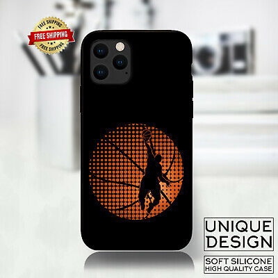 Basketball Game Player Ball Phone Case Samsung Galaxy S10 S9 Huawei iPhone Gift
