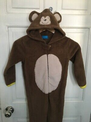 Primark Boys Girls All In One Sleepsuit Pyjamas Childrens Kids Monkey Costume