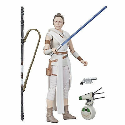 Star Wars The Black Series Rey and D-O Toys 6-inch Collectible Action Figures