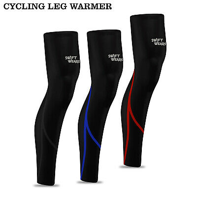 FDX Mens Q Cycling cycle  Leg Warmer Running winter Knee Warmers Thermal Roubaix