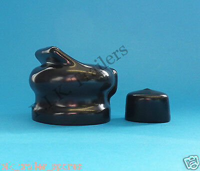7 Pin Plug & Socket Covers for Caravan and Trailer towing electrics