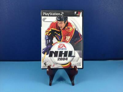 NHL 2004 Complete Tested Sony Playstation PS2 Heatley Cover