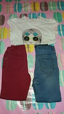 Girls used bundle of clothes size 8/9 years old. From George