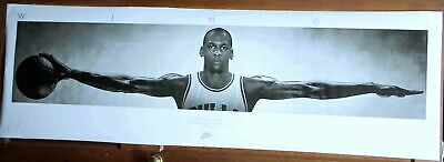 "MICHAEL JORDAN WINGS POSTER Huge 6ft Wide 72"" x 23"" - NEW"