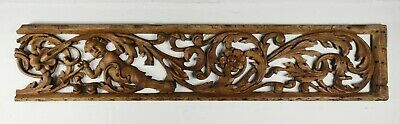 A Fine 17th Century Carved Oak Fragment.