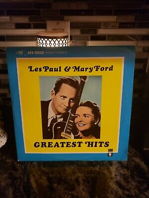 Les Paul & Mary Ford Greatest Hits   33RPM  020316 TLJ