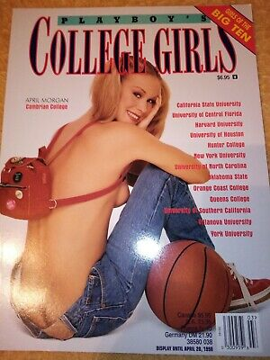 Playboy Special Editions College Girls 1998  April Morgan