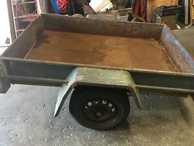 6 x 4 Steel box trailer. Needs repair.