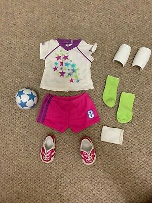 """American Girl Doll soccer outfit - 18"""" doll"""