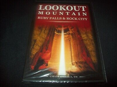 Lookout Mountain (DVD) Ruby Falls & Rock City..............NEW & FACTORY SEALED!