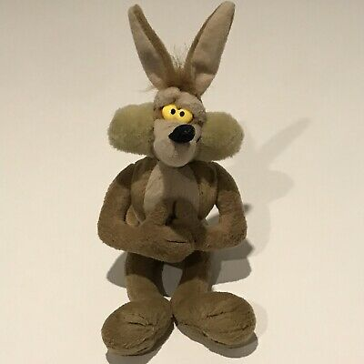Vintage Wile E. Coyote Plush. Looney Tunes Soft Toy