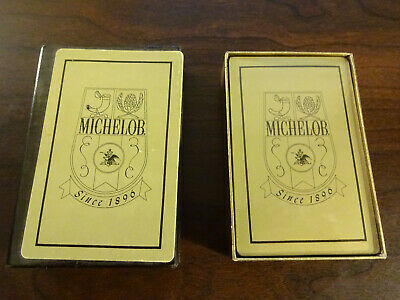 MICHELOB SINCE 1896  PLAYING CARDS New & Sealed Very RARE