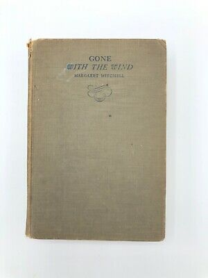 Original Gone With The Wind, Book, 1936 1st Edition, 8th Printing
