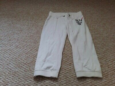 M&s Age 10 White 3/4 Length Trousers