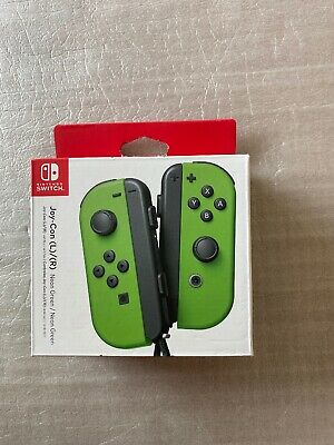 Nintendo Joy-Con (L/R) Wireless Controllers for Nintendo Switch - Neon Green New