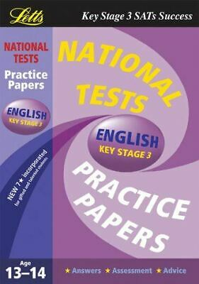 National Test Practice Papers 2003: English Key stage 3, , Very Good, Paperback