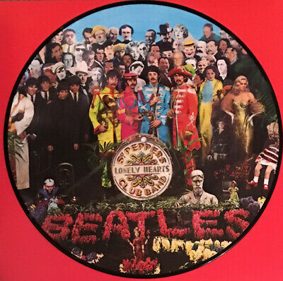 THE BEATLES Sgt Peppers Lonely Hearts Club Band picture disc vinyl LP Record SEA