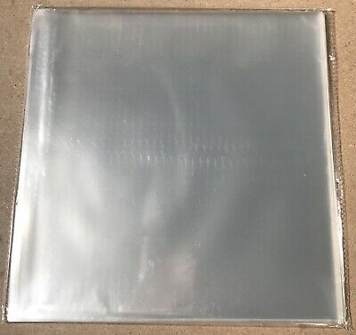 "50 X RECORD OUTER SLEEVES FIT 2 LP /3LP vinyl & 12"" CRYSTAL CLEAR LIKE BLAKE Rec"