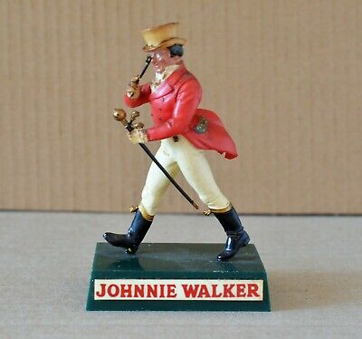 Old Small Johnnie Walker Scotch Whisky Bar Advertising Statue