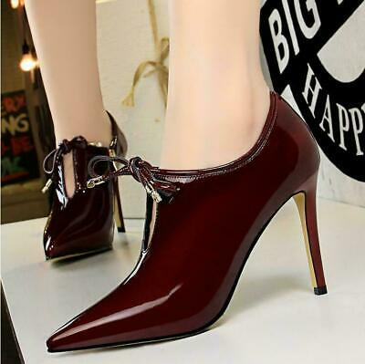 Women's Sexy Pointed Toe High Stilettos Heels Single Party Shoes Pumps LHM15