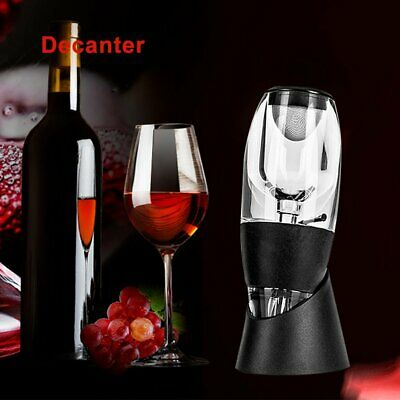 New Magic Decanter Essential RED Wine Aerator and Sediment Filter KU