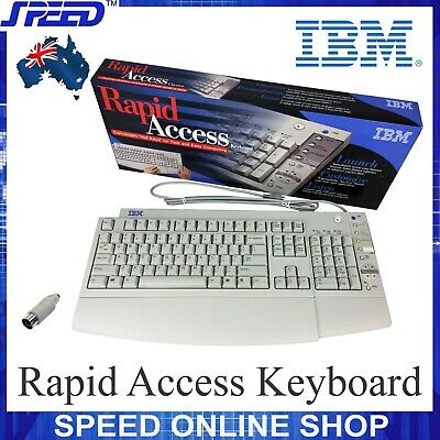 IBM KB-7993 Rapid Access Keyboard - 00K8649 / 12J5557 / 12J5558 - (PS2 + AT)