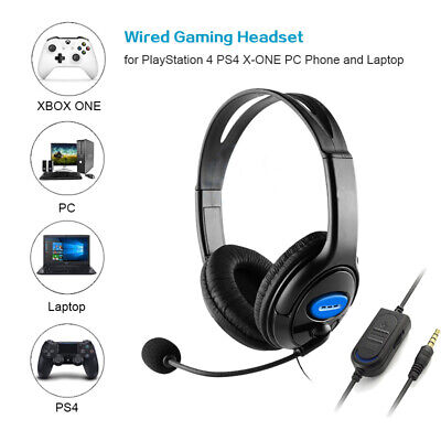 Wired Gaming Headset Earphone with Microphone Headphone for PC  Laptop Xbox One