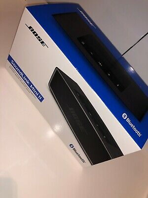 Bose Soundlink Mini Ii, Box & Accessories Only No Speaker, Super Fast Delivery