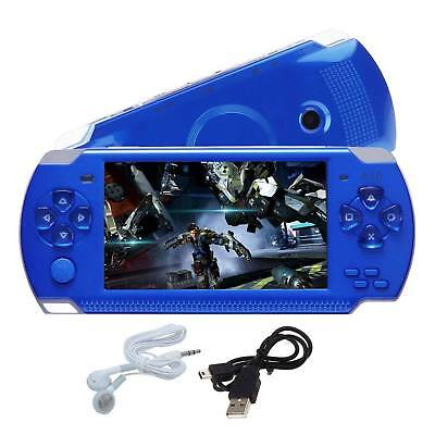 """32Bit Portable 8GB 4.3"""" PSP Handheld Game Console Built-In Games+Camera battery"""