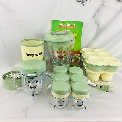 Magic Bullet Baby Bullet Complete Baby Food Making System 20 Piece Set Blender