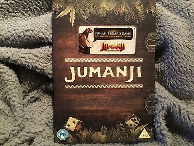 Jumanji (Special Edition With Board Game) [DVD] New And Sealed
