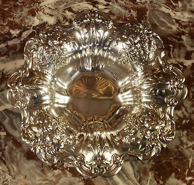 "Reed & Barton Francis I X569 8"" Sterling Silver Bowl 314g"