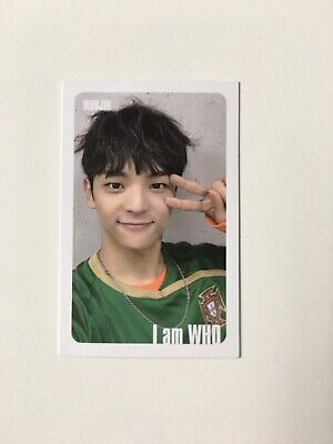 STRAY KIDS Woojin I am WHO White Border Official Photocard PC Kpop