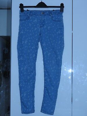 Zara Girls Casual Collection Jean Style Trousers Size 11-12 Years Stretch