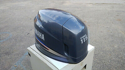Early to mid 2000's Yamaha 115 Fourstroke Cowling Used Nice Looking