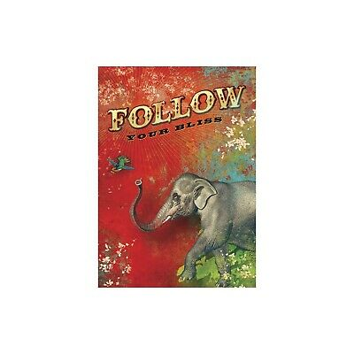 Follow Encouragement Greeting Card & Envelope by Tree Free