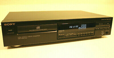 SONY CDP-297 Compact Disc Player CD-Player TOP