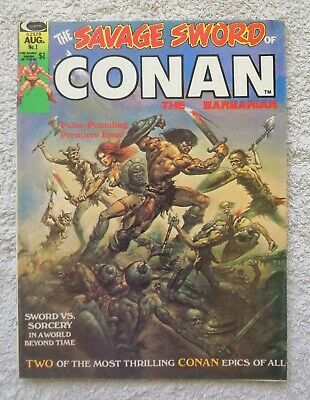 Savage Sword Of Conan the Barbarian #1  1974 FN/VF